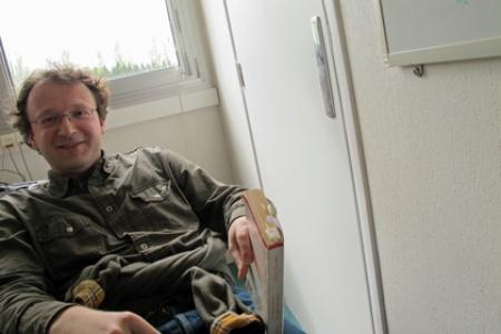 Celui qui lit dans l'autobus, rencontre avec Vincent Bontems